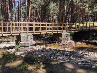 Pesquerías Reales-Valsaín,Río Eresma;grupos de singles en madrid lago de finlandia puente los san